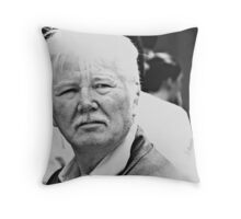 Candid portrait #1 - Budapest Throw Pillow