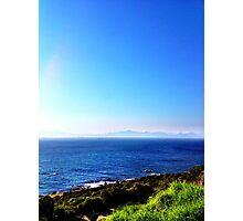 Rocklands Campsite ocean view Photographic Print
