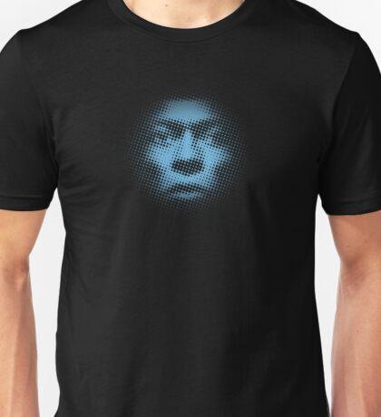 halftones of blue Unisex T-Shirt