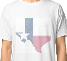 The Cities of Texas Classic T-Shirt