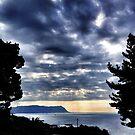 Rocklands Campsite view by Jono Le Feuvre
