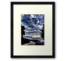 Rocklands Campsite view Framed Print