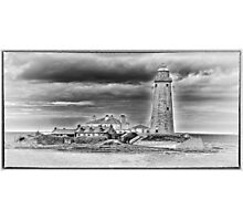 St Marys Lighthouse Photographic Print