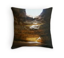 Algarve Caves Throw Pillow