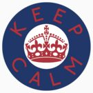 KEEP CALM ROUNDEL xxii by GraceMostrens