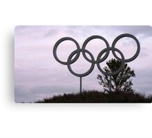 London 2012 Olympic Park Canvas Print