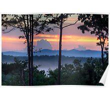 Blue Ridge Mountains of Georgia Poster