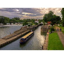The River Thames at Goring Photographic Print