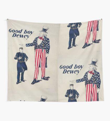 Good boy Dewey Wall Tapestry