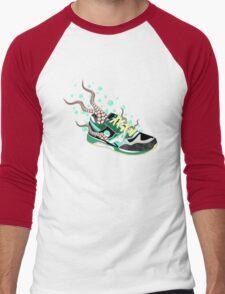 Octo-Sneak Men's Baseball ¾ T-Shirt