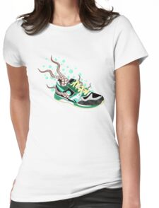 Octo-Sneak Womens Fitted T-Shirt