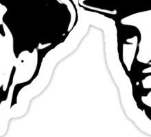 martin and lewis Sticker