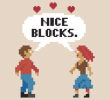 NICE BLOCKS by shirtboxco