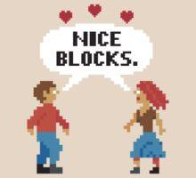 NICE BLOCKS by shirtboxco