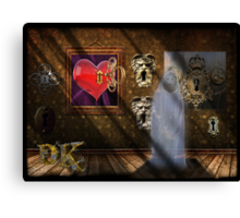 You hold the key Canvas Print