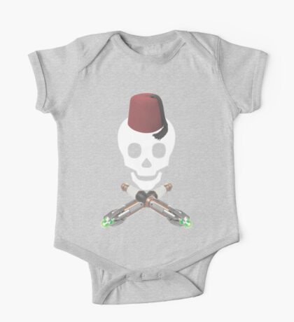 DOCTOR WHO - Fez and Cross Sonics One Piece - Short Sleeve