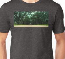 Tree Lined Path Of Oak Alley Plantation In Louisiana Unisex T-Shirt