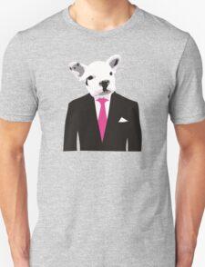 Bulldog man Unisex T-Shirt