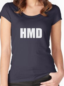 HMD Women's Fitted Scoop T-Shirt