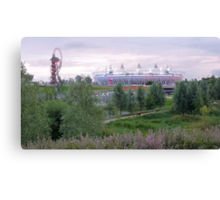 London 2012 Olympic Park Canvas Print