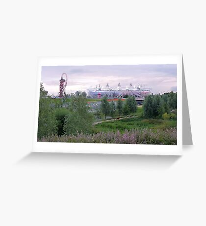 London 2012 Olympic Park Greeting Card