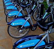 Blue Barclays   by Stephen Burke