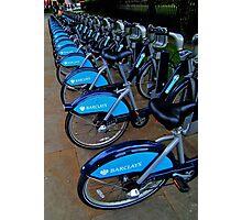 Blue Barclays   Photographic Print
