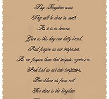 The Lord's Prayer by DreamCatcher/ Kyrah Barbette L Hale