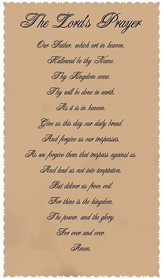 The Lord's Prayer by DreamCatcher/ Kyrah Barbette L Hale