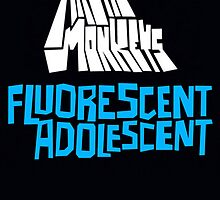 Fluorescent Adolescent Poster by mcpearson