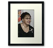 Self-Portrait of a Colorful Soul - Base Photo Framed Print