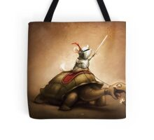 Knight of the Chinchilla Tote Bag