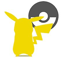 Smash Bros - Pikachu Photographic Print