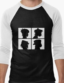 Gorillaz - Demon Days Silhouette Men's Baseball ¾ T-Shirt