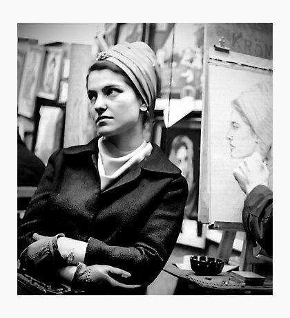 Greenwich Village Mona Lisa Photographic Print