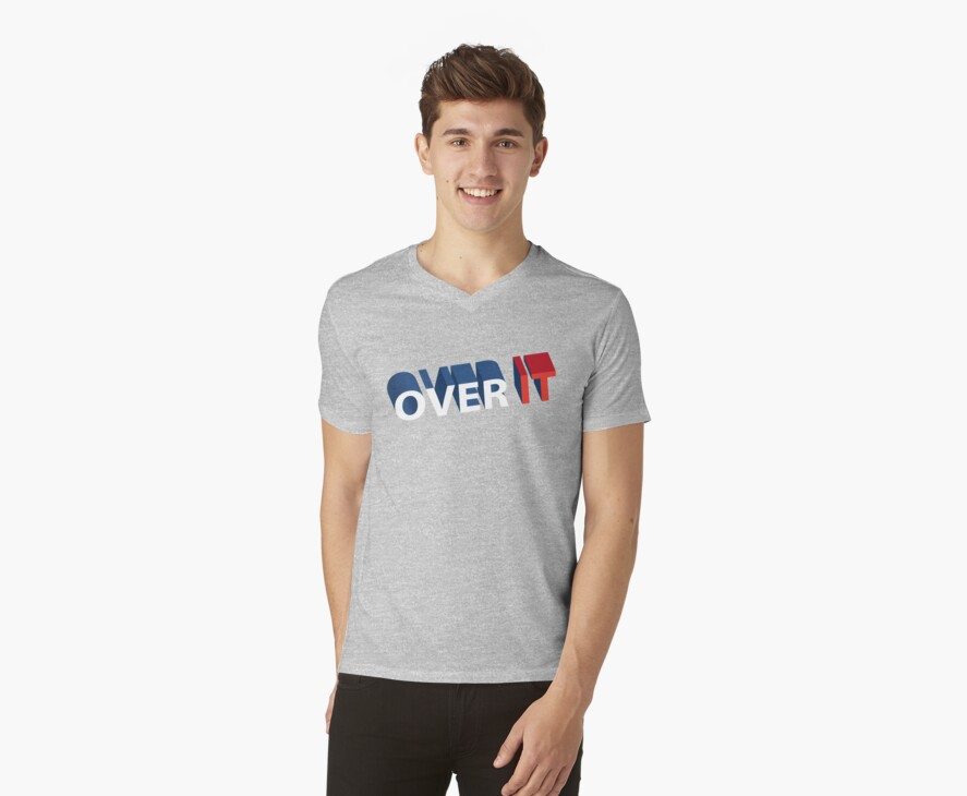 OVER IT by shirtboxco