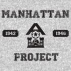 Manhattan Project Tee by Jamasia