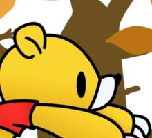 Gloomy Pooh Bear Sticker