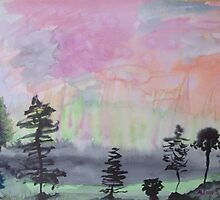 Surreal Landscape. by Easel