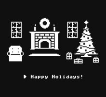 8-Bit Holiday Kids Clothes