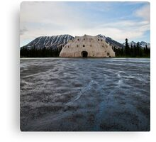 the igloo Canvas Print