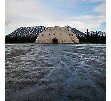 the igloo Photographic Print