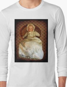 ANTIQUE VINTAGE DOLL-PILLOW-JOURNAL-TOTE BAG-PICTURE-ECT. Long Sleeve T-Shirt