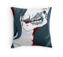 Fushi onnano ko - Undead girl  Throw Pillow