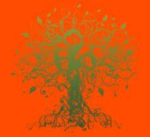 Meditate, Meditation, Spiritual Tree Yoga T-Shirt Kids Clothes