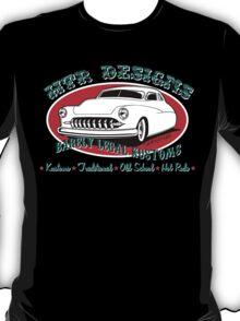 HTR Designs Barely Legal Kustoms garage T-Shirt