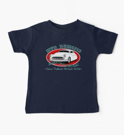 HTR Designs Barely Legal Kustoms garage Baby Tee