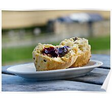 Jam And Scone Poster
