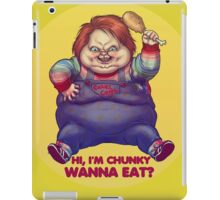 CHUNKY THE KILLER GOURD GUY iPad Case/Skin