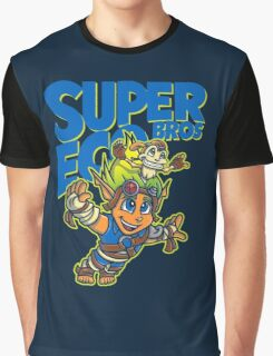 Super Eco Bros Graphic T-Shirt